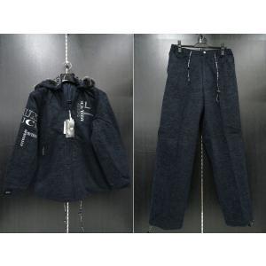 デュークスデューチェ 長袖上下セット 紺 318238W-99  DOUX DOUCE|wanwan