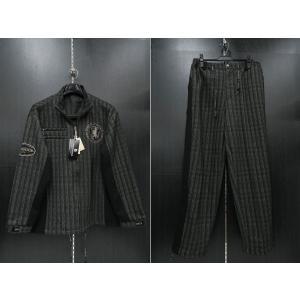 デュークスデューチェ 長袖上下セット 黒/白 318253W-15  DOUX DOUCE|wanwan