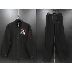 デュークスデューチェ 長袖上下セット 黒 318541W-15 DOUX DOUCE|wanwan