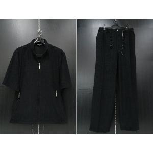 デュークスデューチェ 半袖上下セット 黒 318807W-15 DOUX DOUCE|wanwan