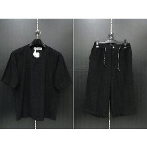 デュークスデューチェ 半袖上下セット 黒 318820S-15  DOUX DOUCE|wanwan