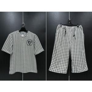 デュークスデューチェ 半袖上下セット 白/黒 318830S-15   DOUX DOUCE|wanwan