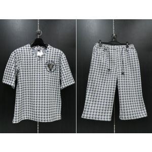 デュークスデューチェ 半袖上下セット 白/黒 318830S-99   DOUX DOUCE|wanwan