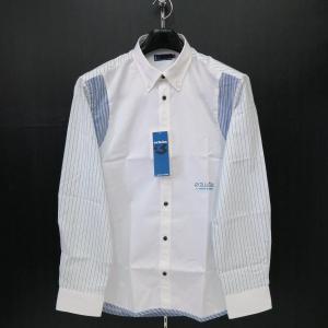ショーン ボタンダウンシャツ 白 48-50サイズ 32260-108-01 schon|wanwan