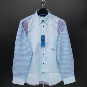 ショーン ボタンダウンシャツ 水色 50サイズ 32260-108-53 schon|wanwan