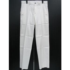バラシ 麻綿カジュアルパンツ 白 91cm 4250-4101-10 barassi|wanwan