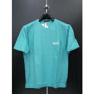 ハーディーエイミス 半袖Tシャツ エメグリーン 510-7591-034 HardyAmies|wanwan