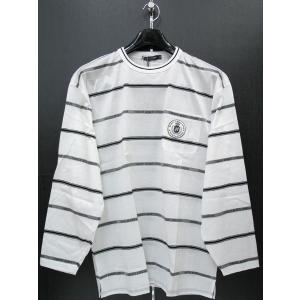 ハーディーエイミス 長袖Tシャツ 白 510-8585-001 HardyAmies|wanwan