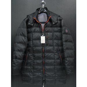サンタフェ ダウンジャケット 黒 52145-019 santaFe L-LLサイズ|wanwan