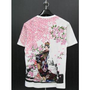 楽土 半袖Tシャツ 白 54822-05 Rad Swinger|wanwan