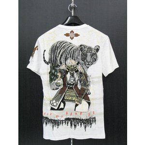 楽土 半袖Tシャツ 白 54825-05 Rad Swinger|wanwan