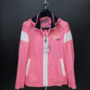 サンタフェ メッシュパーカー付きブルゾン ピンク 50サイズ 55404-065 santaFe|wanwan