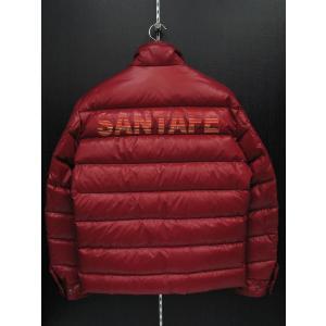 サンタフェ ダウンジャケット 赤 56150-066 santafe|wanwan