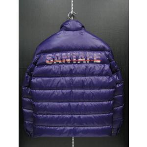 サンタフェ ダウンジャケット パープル 56150-088 santafe|wanwan