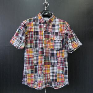アルコット ヒル 半袖ボタンダウンシャツ 赤/紺/黄色/白 61-2101-10-49 Alcott hill|wanwan