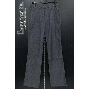 サンタフェ ストレッチカジュアルパンツ インディゴ 73-85cm 61402-098 santafe プレミアム6|wanwan