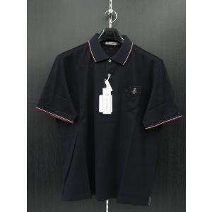 ジーゲラン 半袖ポロシャツ 紺 6210-2511-53 GEE GELLAN|wanwan