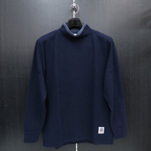 パジェロ 長袖ハイネックTシャツ 紺 75-1515-07-49 PAGELO wanwan