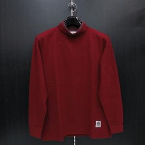 パジェロ 長袖ハイネックTシャツ 赤 75-1515-07-67 PAGELO wanwan