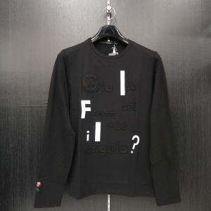 ウザリス ラインストーン 長袖Tシャツ 黒 LL/3Lサイズ 75-1515-60-05 USUALIS|wanwan