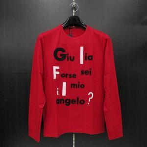 ウザリス ラインストーン 長袖Tシャツ 赤 LLサイズ 75-1515-60-65 USUALIS|wanwan