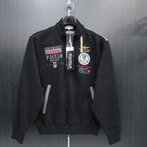 パジェロ ハーフジップトレーナー 黒 75-6501-07-05 PAGELO|wanwan