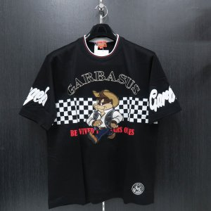 アンジェロ 半袖Tシャツ 黒 81-2503-03-05 ANGELO GARBASUS|wanwan
