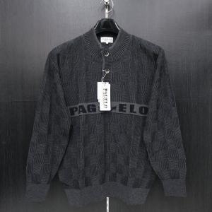 パジェロ セーター ニット グレー M/L/LLサイズ 長袖 PAGELO 81-7801-07-05 wanwan