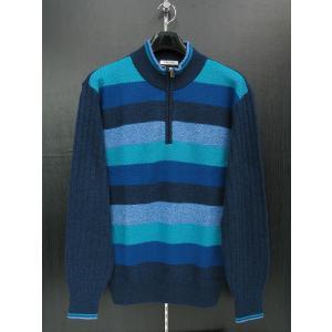 バジエ ハーフジップセーター 8120-5011-53 VAGIIE|wanwan