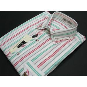 アンジェロ 長袖ボタンダウンシャツ 82-1353-01 ANGELO GARBASUS|wanwan