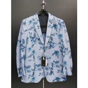 バラシ ジャケット ブルー 8250-6003-55 barassi|wanwan