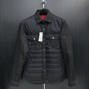 SALE30%OFF サンタフェ デニムシャツダウン 黒 84802-019 santaFe 52サイズ|wanwan