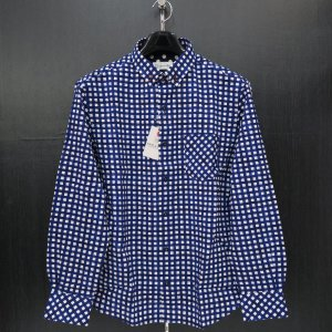 サンタフェ 長袖ボタンダウンシャツ 52サイズ 85409-093 santaFe|wanwan