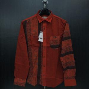 サンタフェ ペイズリー、花柄長袖シャツ 50サイズ 85419-062 santaFe|wanwan