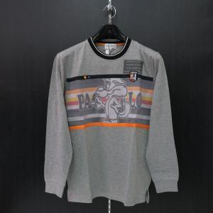 パジェロ 長袖Tシャツ グレー M/L/LL 91-1582-07-35 PAGELO|wanwan