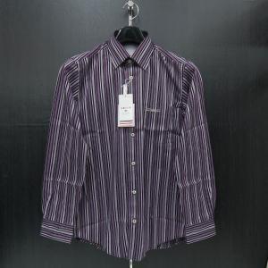 バジエ 長袖シャツ 紫 9120-1004-62 VAGIIE|wanwan