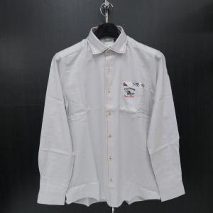 バジエ 長袖シャツ 薄いグレー 9120-1027-10 VAGIIE|wanwan