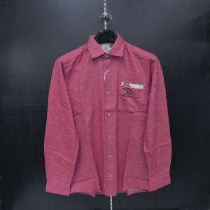バジエ 長袖シャツ ピンク 9120-1027-64 VAGIIE|wanwan