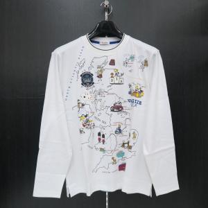 バジエ 長袖Tシャツ 白 9120-2053-10 VAGIIE|wanwan