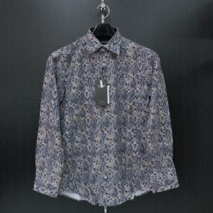 バラシ 長袖シャツ青/白  9150-1001-51 barassi|wanwan