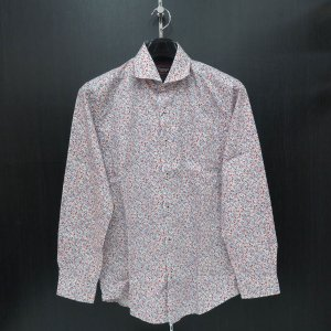 バラシ 長袖シャツ 9150-1007-11 白  barassi|wanwan