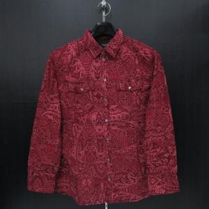 バラシ 長袖シャツ 9150-1051-61 赤  barassi|wanwan