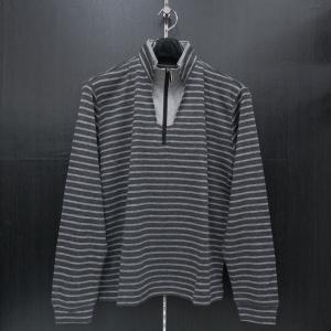 バラシ 長袖ハ-フジップTシャツ グレー 9150-2002-31 barassi|wanwan