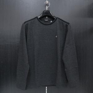 バラシ 長袖Tシャツ 黒 9150-2051-21 barassi|wanwan