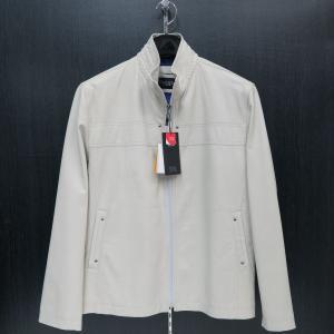 バラシ 本革ブルゾン 白 48サイズ 9150-3081-10 barassi|wanwan