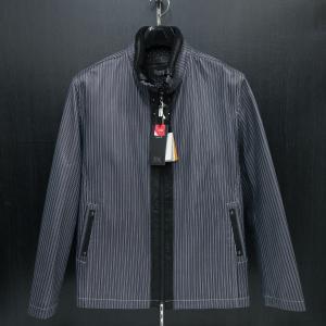バラシ 本革ブルゾン 黒 48-50サイズ 9150-3083-11 barassi|wanwan