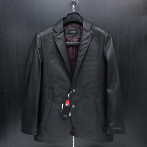 バラシ 本革ジャケット 黒 46サイズ 9150-6782-20 barassi|wanwan