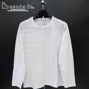 サンタフェ 長袖Tシャツ 白 52サイズ 94415-001 santaFe|wanwan