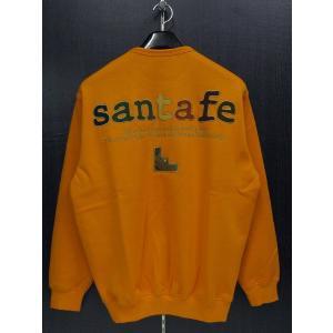サンタフェ トレーナー オレンジ 48(Lサイズ) 95114-062 santafe|wanwan