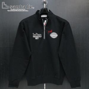 サンタフェ ハーフジップトレーナー 黒 48-50サイズ 95404-019 santafe wanwan